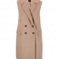 Béžová kabátová vesta, ZOOT
