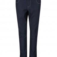 Tmavě modré džíny s vysokým sedem