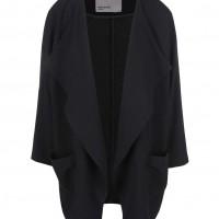 Černý oversized blazer