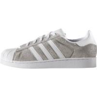 Stříbrné tenisky adidas Superstar W