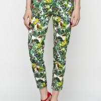 Květinové kalhoty