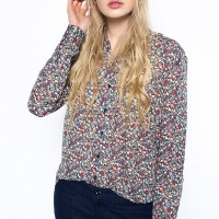 Košile Pepe Jeans s jemným květinovým vzorem