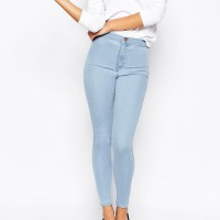 Světle modré džíny