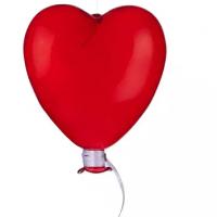 Skleněný balón srdce