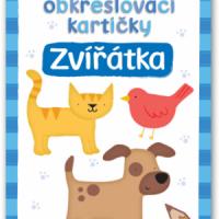První obkreslovací kartičky – Zvířátka