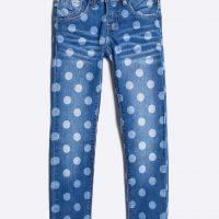 Dětské puntíkaté džíny