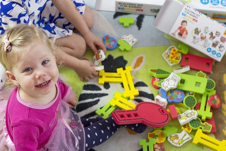 dětská stavebnice pro nejmenší Millaminis