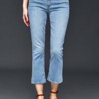 Krátké zvonové džíny GAP
