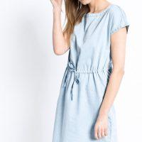 Světle modré šaty