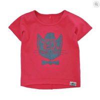Červené tričko s kočičkou