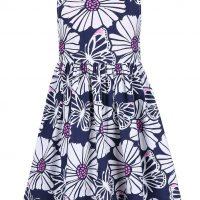 Dívčí květované šaty
