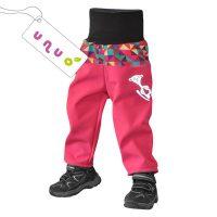 unuo dětské softshellové kalhoty TRIANGL