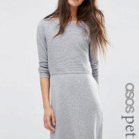 Světle šedé šaty