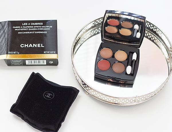Chanel Les 4 Ombres z kolekce Le Rouge Fall 2016