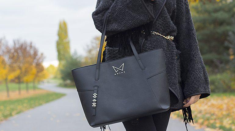kabelka noire