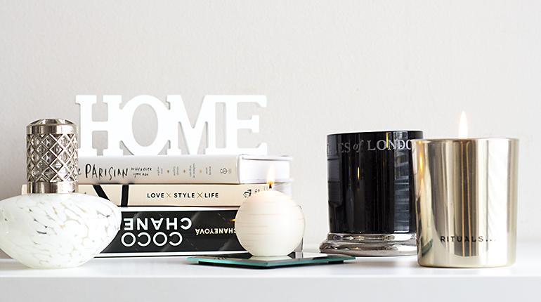 Moje oblíbené podzimní bytové vůně – svíčky i katalytická lampa