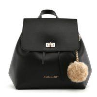 Černý batoh Laura Ashley Hoxton