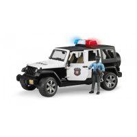 Jeep Wrangler Rubicon policie s figurkou policisty