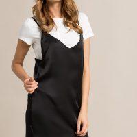 Šaty s tričkem 2v1