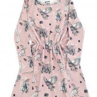 Šaty Nordic růžová