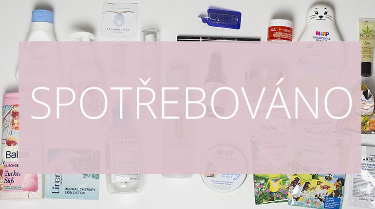 Kosmetika: SPOTŘEBOVÁNO/ Listopad 2016