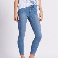 Světle modré katší džíny