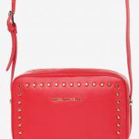Červená cross body bag kabelka