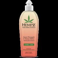 HEMPZ Hydratační koupelový a tělový olej - Sladký ananas & cukrový meloun