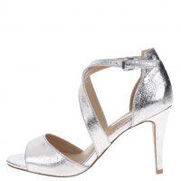 Sandálky ve stříbrné barvě