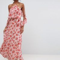 Maxi květované šaty
