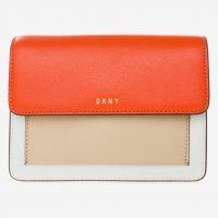 Cross-body kabelka s oranžovým pruhem