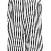 Kalhotová sukně pruhovaná