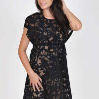 Poloprůsvitné šaty Lisca