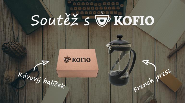 Soutěž: Výběrové kávy KOFIO a designový frenchpress