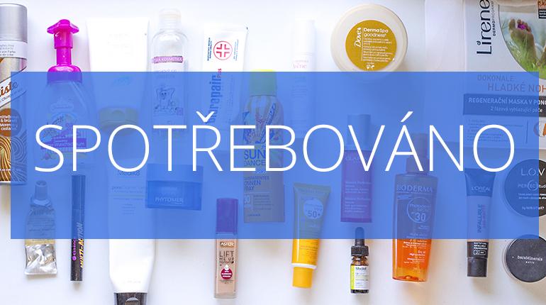 Kosmetika: SPOTŘEBOVÁNO/ Červen 2017