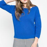 Královsky modrý svetr