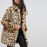 Kožich se vzorem leoparda