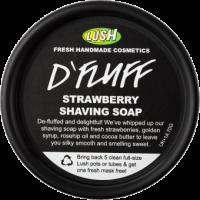 Lush D'Fluff Jahodové mýdlo na holení