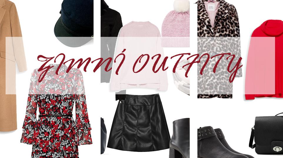 3 zimní outfity, které bych si oblékla právě teď