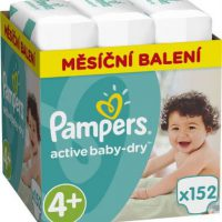 Pleny PAMPERS Active Baby