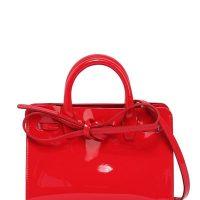 fb6e2d8359e Červená kabelka MANSUR GAVRIEL