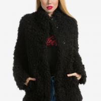 Černý kabátek