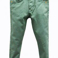 Dětské světle zelené kalhoty