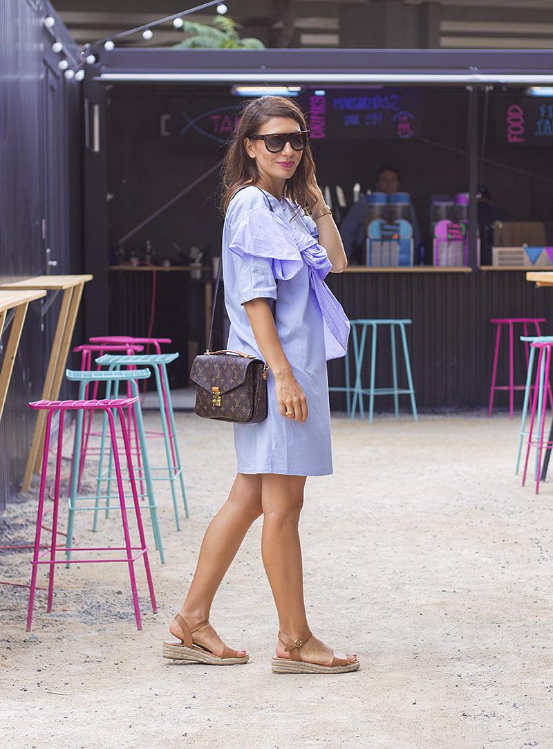 Louis Vuitton Pochette Metis outfit