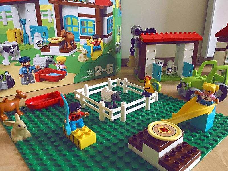 LEGO DUPLO Dobrodružství na farmě