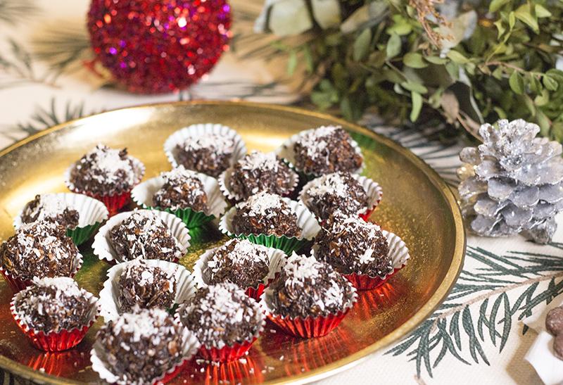 Čokoládovo-kokosové kuličky (nepečené)