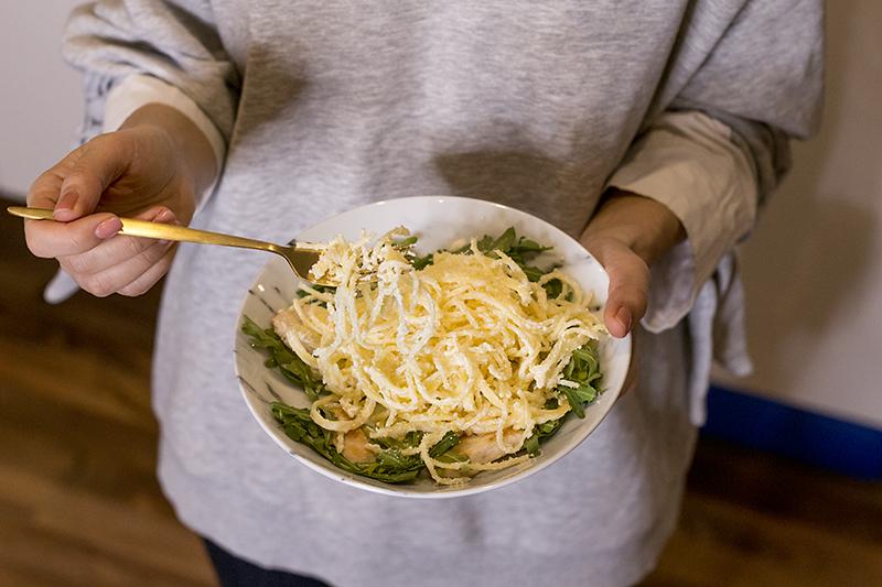 Bezlepkove spagety s citronovou omackou