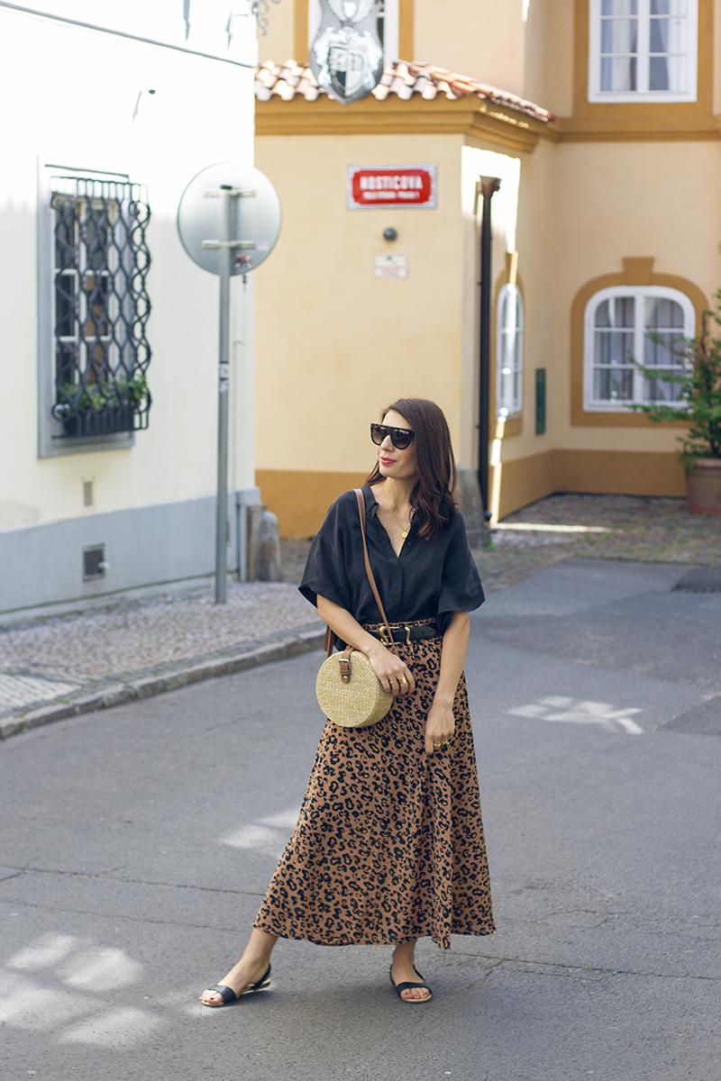tygrovana sukne